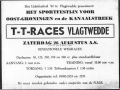 Advertentie TT races Vlagtwedde 1967